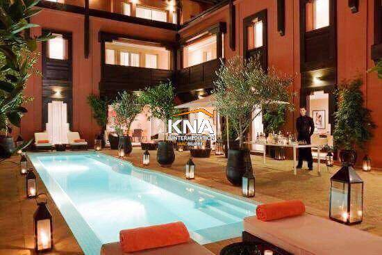 Villa à Location courte durée à Centre ville Marrakech