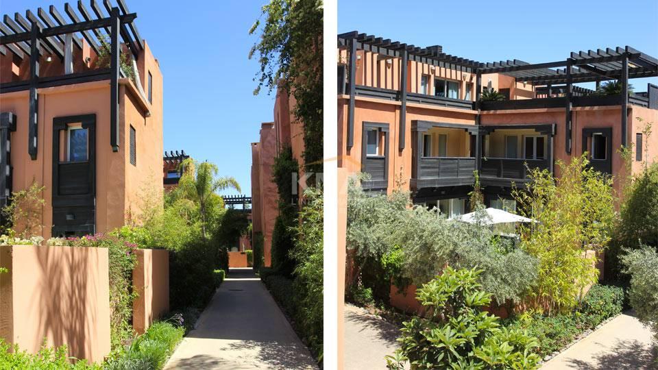 Villa à Location longue durée à Centre ville Marrakech