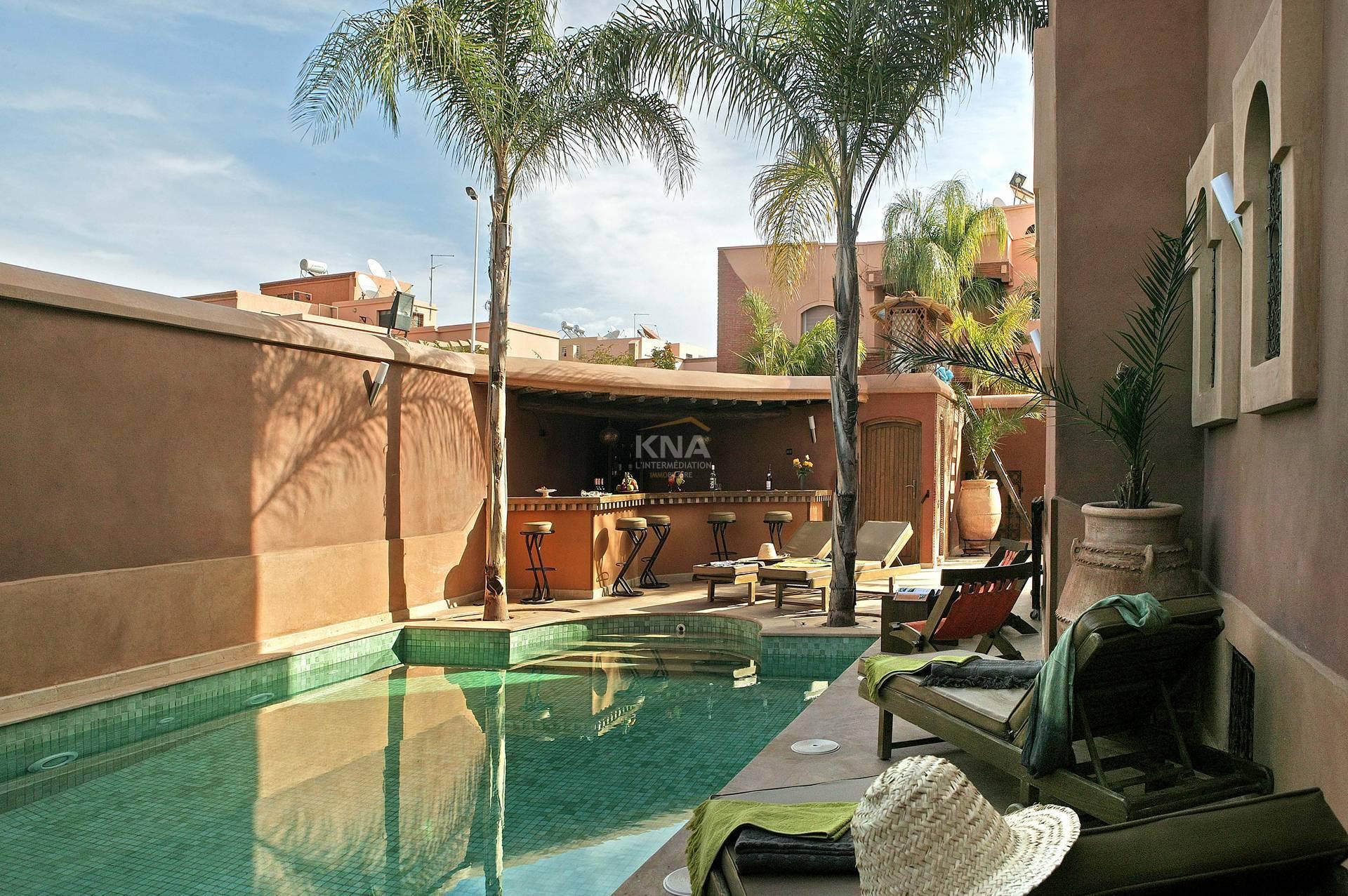 Villa à Location courte durée à Targa Marrakech