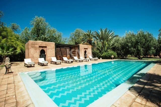 Villa à Location courte durée à Palmeraie Marrakech