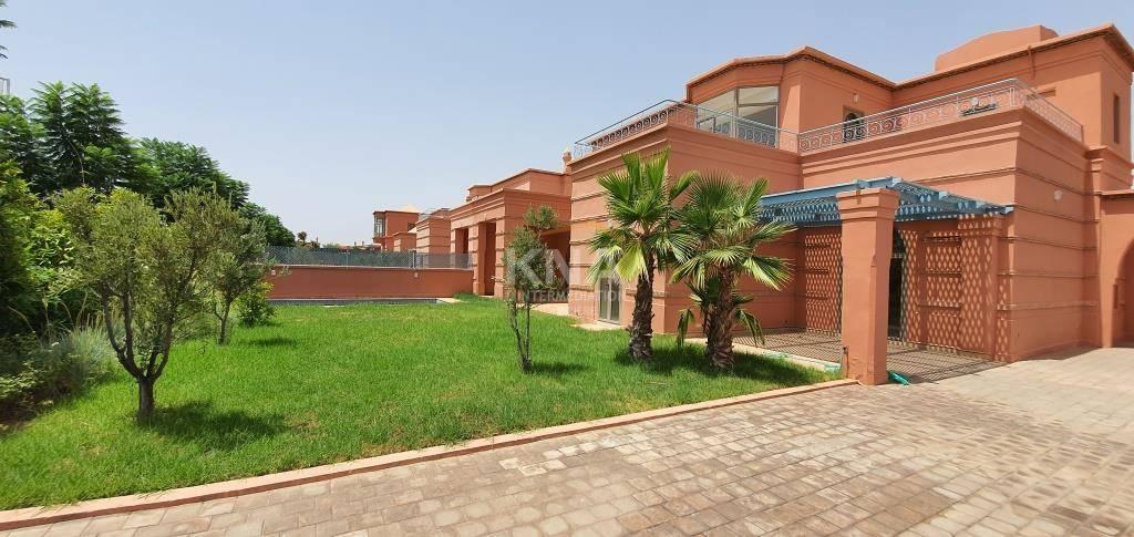 Villa à Location longue durée à Amelkis Marrakech