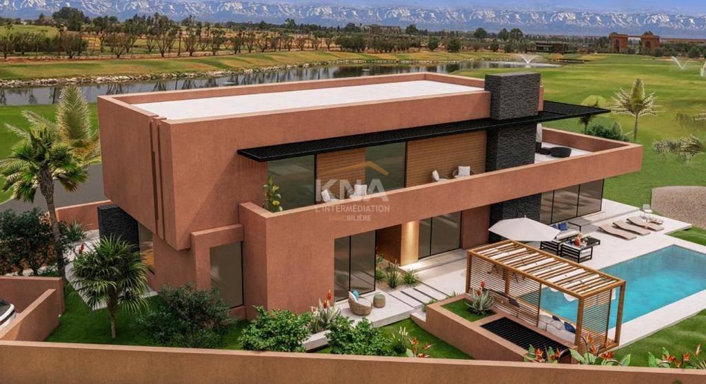 Vente Très belle Villa contemporaine neuve aux lignes épurées en première ligne d'un prestigieux et sécurisé domaine golfique Marrakech