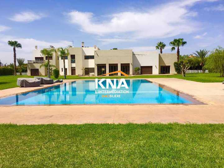 Villa à Location longue durée à Route de Ouarzazate Marrakech