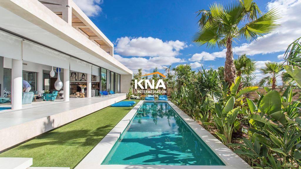 Vente Magnifique Villa d'architecte inaugurant un nouveau concept Marrakech