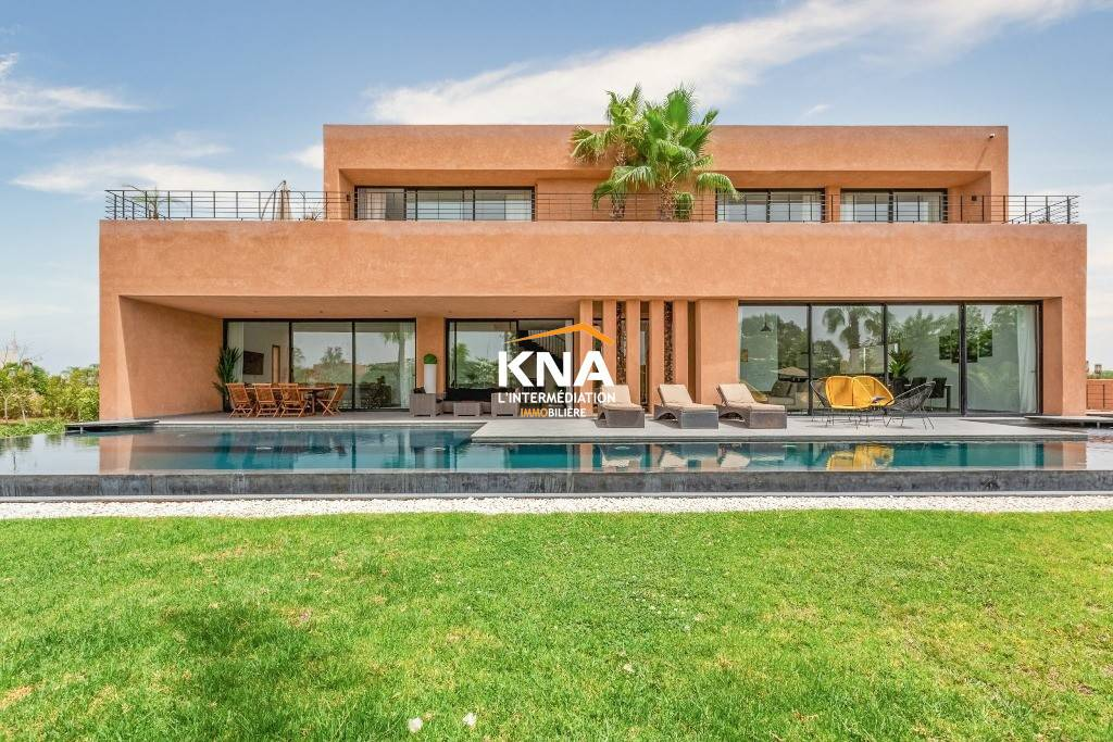 Villa à Location courte durée à Amelkis Marrakech