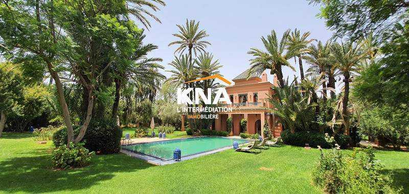 Belle Villa de style mixte à la palmeraie