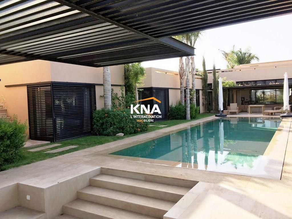 Vente Superbe Villa contemporaine en 1ère ligne de golf Marrakech