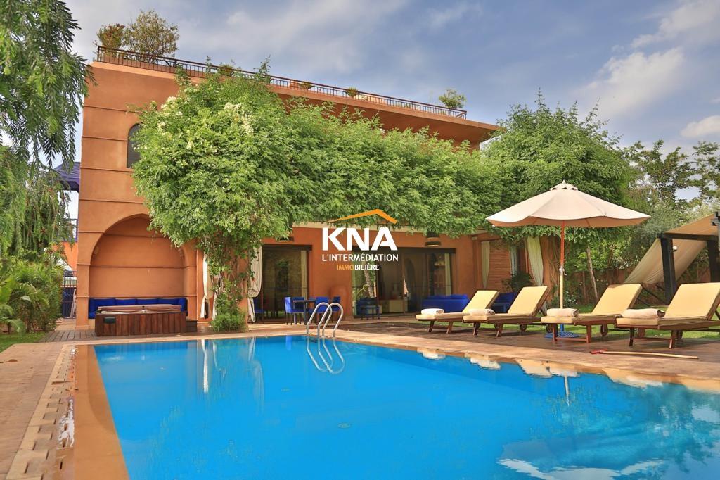 Vente Belle Villa de prestige entièrement rénovée et réaménagée Marrakech