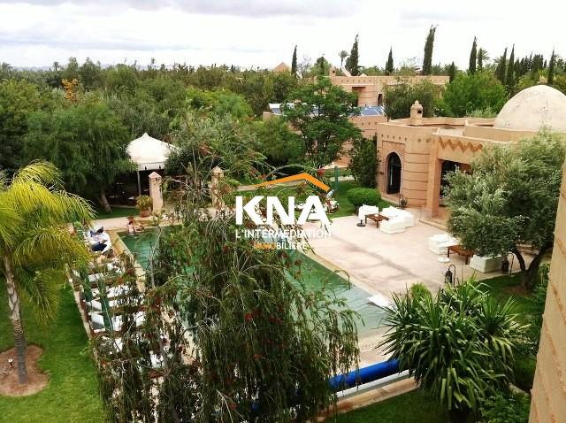 Belle Villa de style mixte idéalement située à proximité des 3 plus beaux golfs de Marrakech