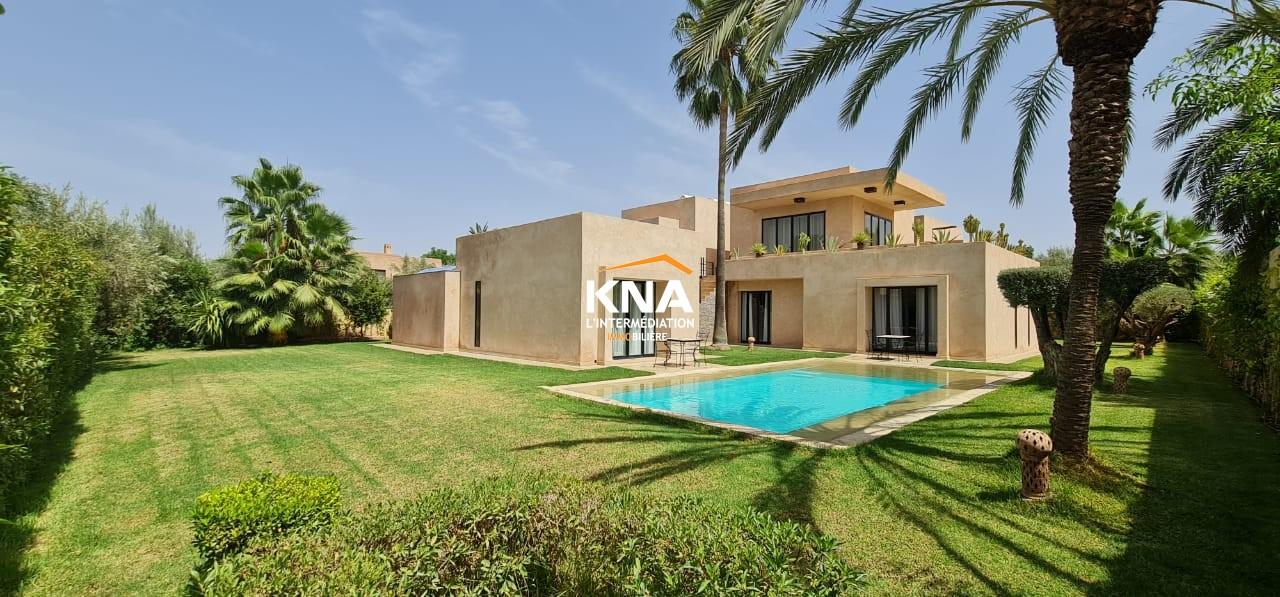 Vente Belle Villa contemporaine de standing située au sein d'une résidence golfique sécurisée Marrakech